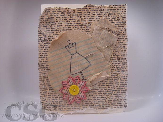 dresspatterncard